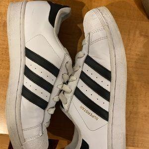 Adidas Superstar White/Black (W)